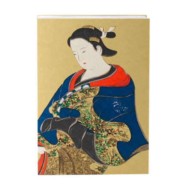 【究極220P御朱印帳】見返り美人/A4極大判21x30cm/蛇腹式