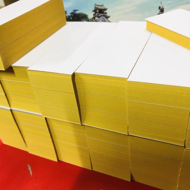 【おうちでDIY】金紙バルクキット ミニ見開き用(お豆サイズ)