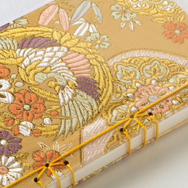 【御朱印帳】130P 華麗鳳凰の亀縛り/和綴じ式/土佐和紙