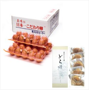 日本一こだわり卵30個(3パック)+どら焼き5個セット