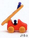 はしご車(小) 赤