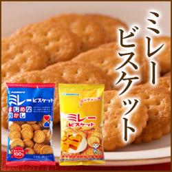 【送料無料】野村 まじめミレービスケット 塩・キャラメル味 選べる20入