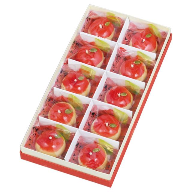 紅りんご10個入箱1