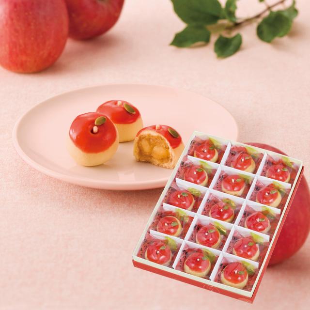 紅りんご15個入イメージ