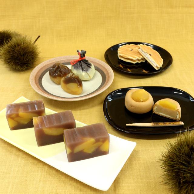 栗づくし銘菓選2