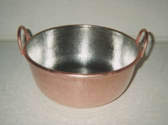 業務用33cm手打ち銅鍋(1尺1寸)