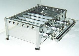 銅製たこ焼き器3枚掛け用ガスコンロ