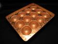 家庭用サイズ銅板たこ焼き器45mm12穴