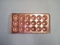 銅製たこ焼き器直径38mm18個穴