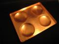 家庭用サイズ銅板どら焼き器78mm4穴