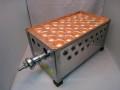 銅板たこ焼き器、今川焼き器1枚掛け用ステンレス製ガスコンロ