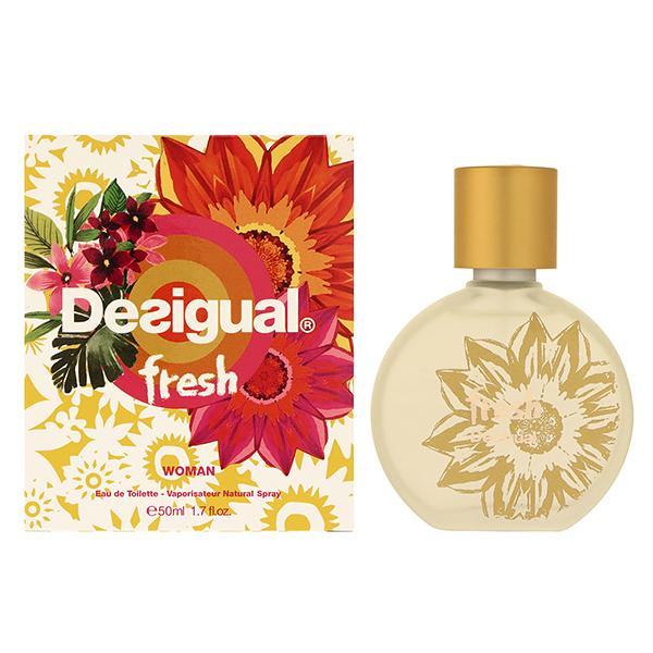 デシグアル フレッシュ EDT SP 50ml レディース 香水