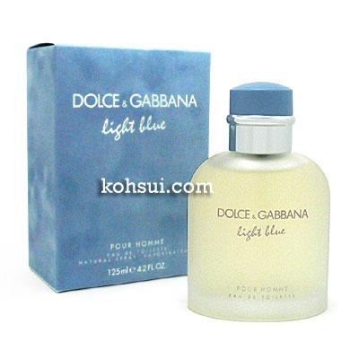 ドルチェ&ガッバーナ DOLCE & GABBANA D&G 香水 ライトブルー プールオム オードトワレ スプレー EDT SP 125ml