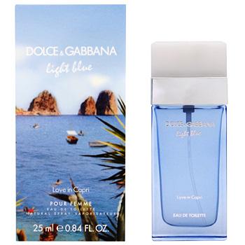 ドルチェ&ガッバーナ D&G ライトブルー ラブ イン カプリ プールファム EDT SP 25ml  香水