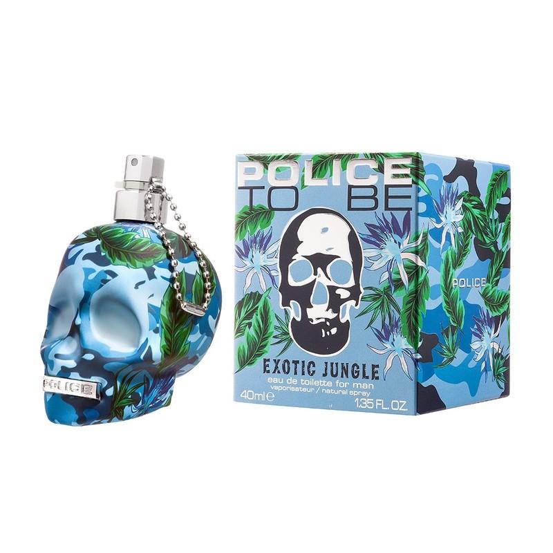 ポリス トゥービー エキゾチック ジャングル フォーヒム オードトワレ 40ml 香水 メンズ