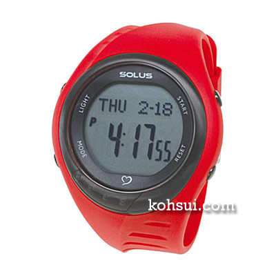 SOLUS team sports 300 01-300-04 レッド [腕時計]