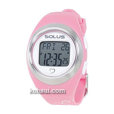 SOLUS Leisure 800 01-800-07 ピンクxバタフライ [腕時計]