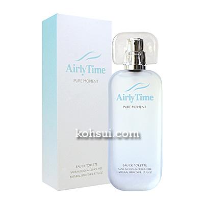 エアリータイム AIRLY TIME 香水 ピュアモーメント オードトワレ スプレー EDT SP 50ml