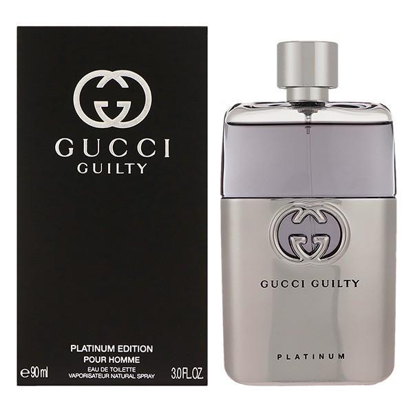 グッチ ギルティ プラチナエディション プールオム EDT SP 90ml 香水
