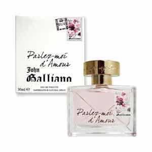 【送料無料】 ジョンガリアーノ JOHN GALLIANO 香水 パルレモアダムール オードトワレ スプレー EDT SP 30ml