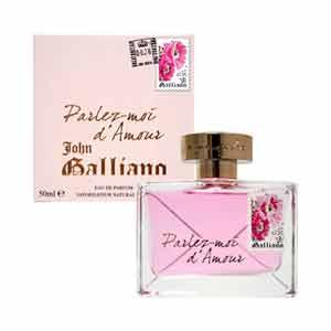 【送料無料】 ジョンガリアーノ JOHN GALLIANO 香水 パルレモアダムール オードパルファム スプレー EDP SP 30ml