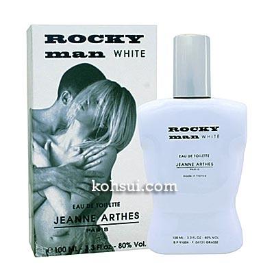 ジャンヌ アルテス JEANNE ARTHES 香水 ロッキーマンホワイト オードトワレ スプレー EDT SP  100ml
