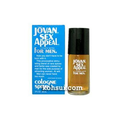 ジョバン JOVAN 香水 セックスアピール フォーメン オーデコロン スプレー EDC SP  88ml