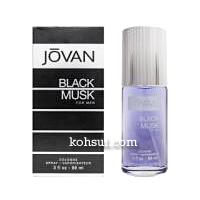 ジョバン JOVAN 香水 ブラックムスク フォーメン オーデコロン スプレー EDC SP  88ml
