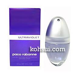パコラバンヌ PACO RABANNE 香水 ウルトラヴァイオレット オードパルファム スプレー EDP SP 30ml