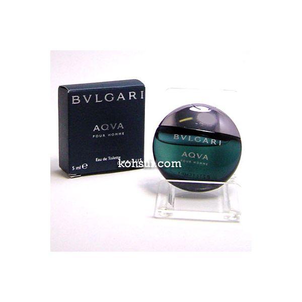 ブルガリ BVLGARI アクア プールオム 5ml EDT ミニ香水