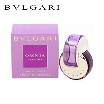 ブルガリ オムニア アメジスト EDT 5ml BVLGARI レディース ミニ香水