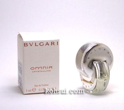 ブルガリ BVLGARI オムニアクリスタリン 5ml EDT SP