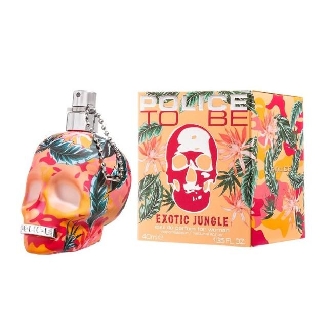 ポリス トゥービー エキゾチック ジャングル フォーハー EDP 40ml 香水 レディース