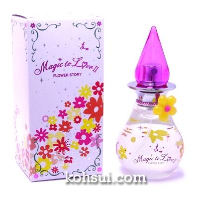 ラブ&ピースパルファム LOVE&PEACE PARFUMS 香水 マジックトゥラブII フラワーストーリー オードパルファム スプレー EDP SP 30ml