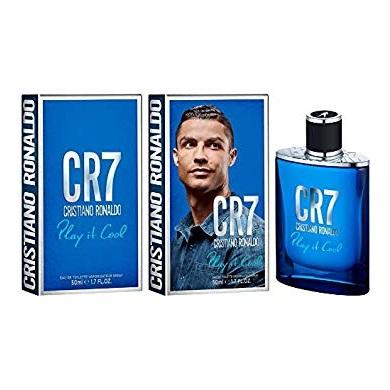クリスティアーノ・ロナウド Cristiano Ronaldo CR7 プレイイットクール オードトワレ EDT SP 50ml