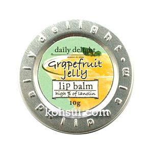 デイリーディライト daily delight リップバーム グレープフルーツゼリー 10g