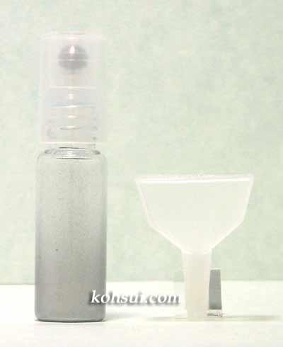 メール便 アトマイザー ロールタイプ シルバー 4ml [香水入れ]