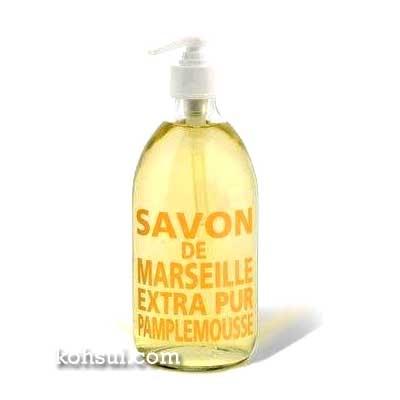 【送料無料】 カンパニー ド プロバンス Compagnie de Provence マルセイユ リキッドソープ グレープフルーツ 500ml