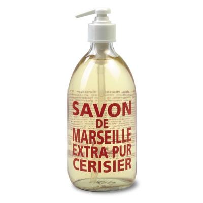 【送料無料】 カンパニー ド プロバンス Compagnie de Provence マルセイユ リキッドソープ チェリーブロッサム 500ml
