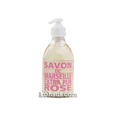 【送料無料】 カンパニー ド プロバンス Compagnie de Provence マルセイユ リキッドソープ ローズ 300ml
