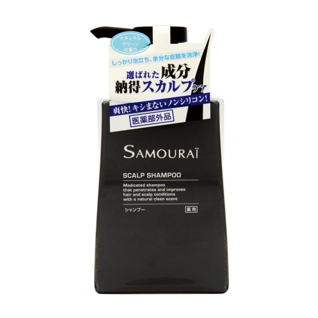【送料無料】 サムライ SAMOURAI バスライン  サムライ 薬用 シャンプー 300ml [メンズ]