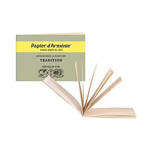 パピエダルメニイ トリプル 紙のお香 トラディショナル 3×12枚