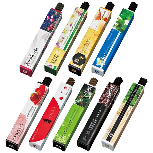 梅栄堂 IMAGINEシリーズ 煙控えめお線香 全9種 40本