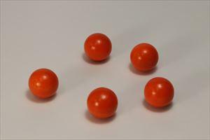 カラー木球25Φ 5ヶ入 オレンジ