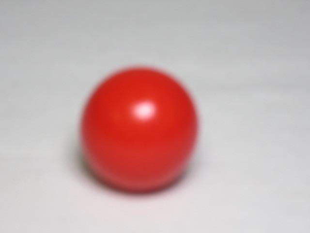 カラー木球 35Φ 赤