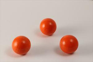 カラー木球30Φ 3ヶ入 オレンジ