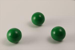 カラー木球30Φ 3ヶ入 緑