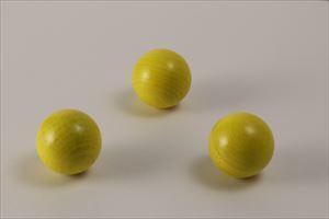 カラー木球30Φ 3ヶ入 黄
