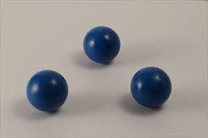 カラー木球30Φ 3ヶ入  青