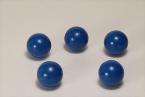 カラー木球25Φ 5ヶ入 青